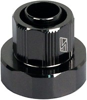 Swiftech 3-4X1-2-G1-4-CF-BK Black 1//2in x 3//4in Lok-Seal� Compression Fitting