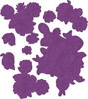 Crafters Companion FSROSEB Gemini Foilpress Stempelstempel Elements-Rosenbl/üte silberfarben