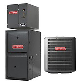 3 Ton Goodman 16 SEER Central Air Conditioner System | Heat
