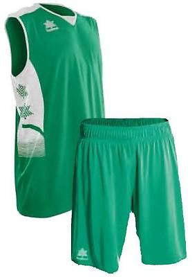 db1a379ee9fd40 TEAMWEAR - Luanvi Unisex All Atlas + Alero Basketball Kit - Green White