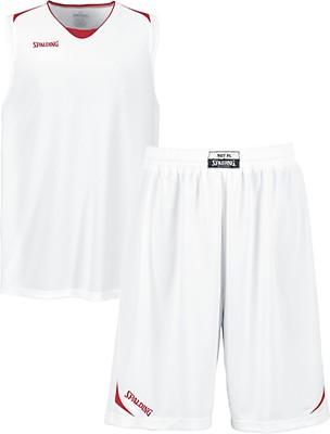 156650920240 TEAMWEAR - Spalding Mens Offense Jersey Only - Red White - UK ...