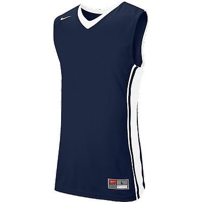 e0642ff1ee6 TEAMWEAR - Nike Basketball Team National Varsity Stock Jersey - Navy  Blue White