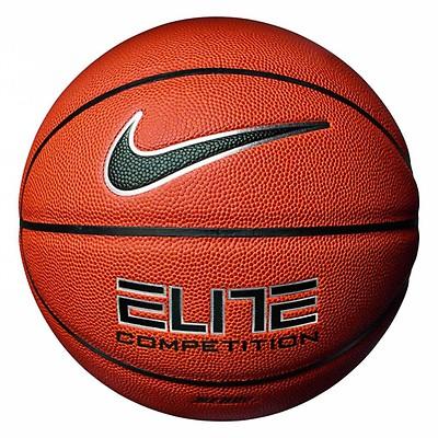 eba597d6eac Nike Elite Competition 8-Panel Basketball - Amber/Black -7 (Mens)