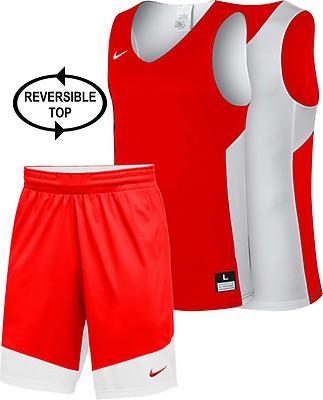 555e3590b072 TEAMWEAR - Spalding Kid s MOVE Basketball Kit - White Red - UK ...
