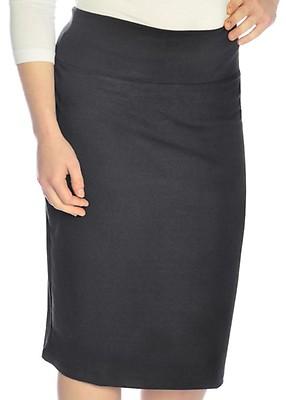 b17ae4867391 Black Women's Modest Knee Length Heavyweight Stretch Pencil Skirt. 35.00$. Plus  Size ...