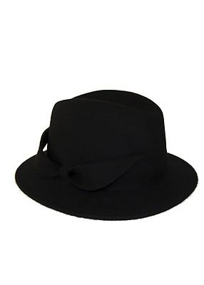 59e93c6aba0a5 Ivory classic felt fedora hat