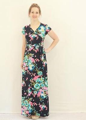 aa074e76560 Mia Floral Maxi Dress - Cream
