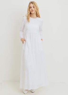 894d310532b3a ModWhite White Gardenia Temple Dress