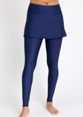 Skirted Long Swim Leggings