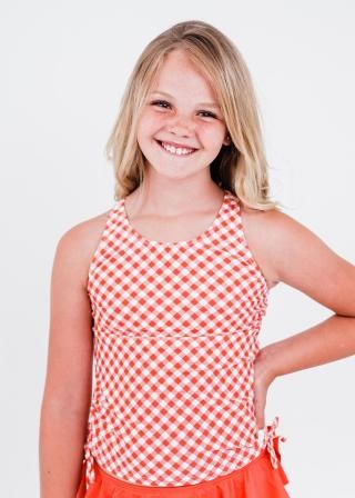 Girl's Abby Swim Top