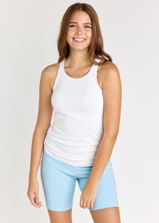 Maya Swim Top With Mid-Thigh Swim Shorts