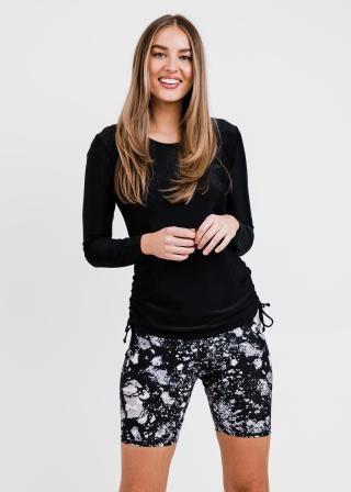 Nora Swim Top With Mid-Thigh Swim Shorts