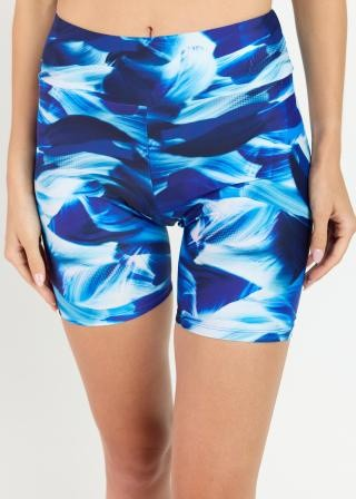 Mid-Thigh Swim Shorts