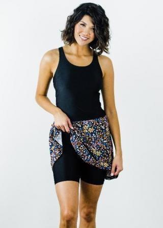 Emily Swim Dress With Mid-Thigh Swim Shorts