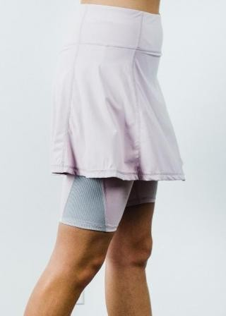 """Midi Sport Skirt With Attached 10"""" Leggings"""