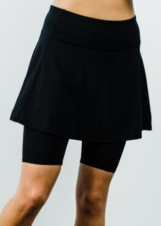 "Midi Sport Skirt With Attached 10"" Leggings"