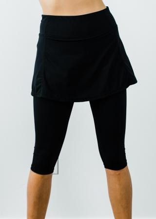 """Short Sport Skirt With Attached 17"""" Leggings"""