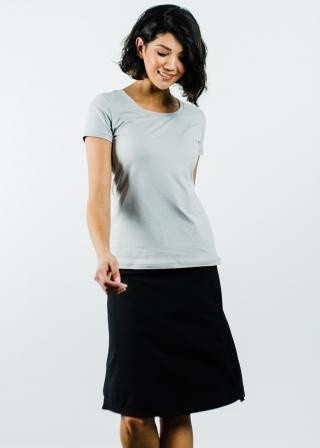 "Performance Tee With Knee Length Sport Skirt With Attached 10"" Leggings - Sport Set"