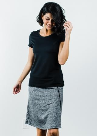 """Performance Tee With Knee Length Sport Skirt With Attached 10"""" Leggings - Sport Set"""