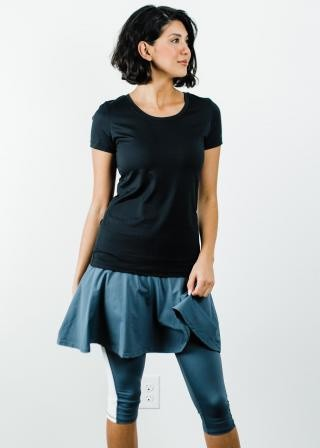 "Performance Tee With Flowy Sport Skirt With Attached 17"" Leggings - Sport Set"
