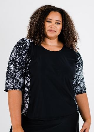 Plus Size Loose Fit Margaux Swim Top