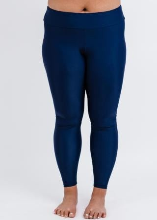 Plus Size Long Swim Leggings