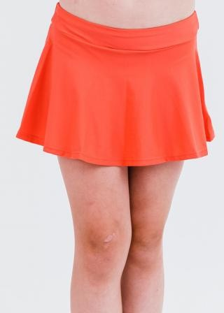 Girl's Short Swim Skort