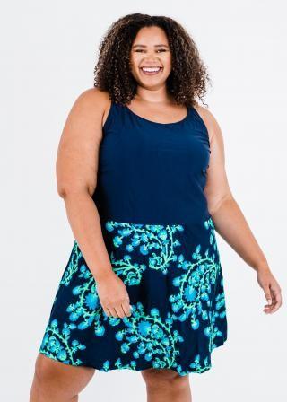 Plus Size Emily Swim Dress