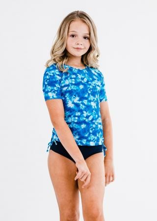 Girl's Lily Swim Top With Bikini Bottom