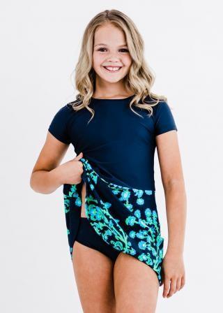 Dixie Swim Dress With Bikini Bottom