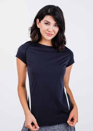 Pro Cap Sleeve Performance Top With Mesh Panels