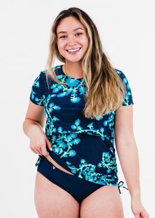 Nina Nursing and Maternity Swim Top With Bikini Bottom