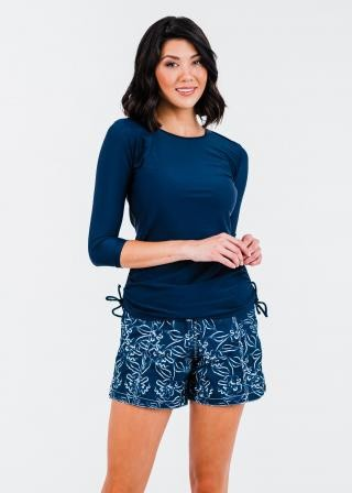 """Margaux Swim Top With 4"""" Board Shorts"""