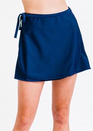 Sarong Wrap Swim Skirt (No Bottom)