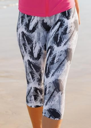 Capri Swim Leggings