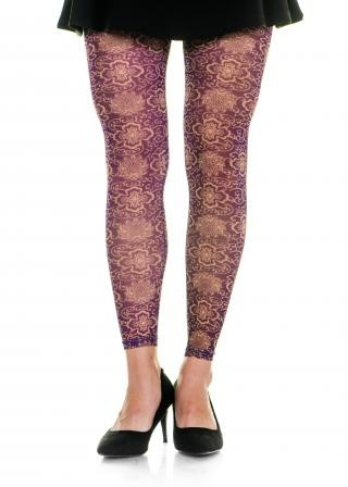 Rip-Proof Footless Tights
