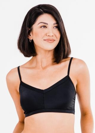 Adjustable Strap Swim Bra