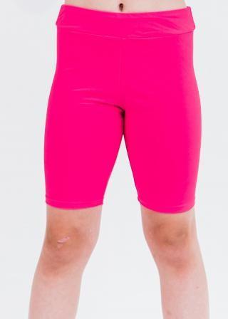 Girl's Long Bike Swim Shorts
