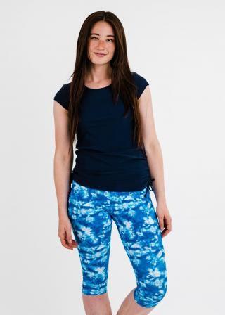 Sadie Swim Top With Capri Swim Leggings