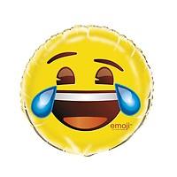 Ballon Métallique Hélium Emoji Mort De Rire Jour De Fête