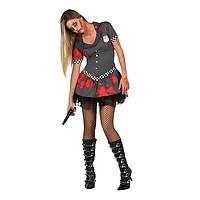 Déguisement Shérif Femme Zombie Taille au Choix