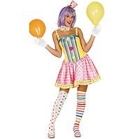c623ab7cf54 Déguisement Clown Funny Femme - Taille au Choix