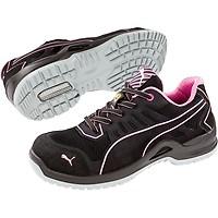 d6c9f733b80ae Chaussure de sécurité basse femme Puma Fuse Pink Low ESD S1P SRC