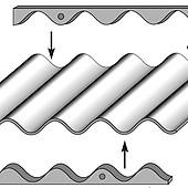 Faynot Crochet tige SN8 galvachaud pour fibres ciment 100
