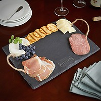 personalized slate cheese board,Mr./&Mrs.,personalized serving platter,The Name of Love Engraved Slate Cheese Board,CH204