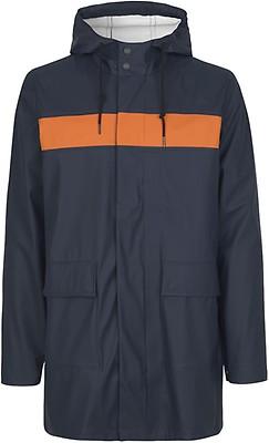 eeba99f7 SÉFR SÉFR - Rob Parka Washed sort vannavstøtende jakke til herre
