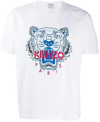 14df4c24 KENZO - Tiger rød t-skjorte til herre