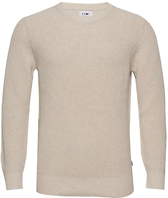 Calvin Klein Lysegrå Ls Sweatshirt Genser Dame Overdeler
