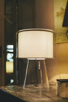 Mercer Blanco Lámpara Sobremesa Perla Interior Marset Mini hQrdts