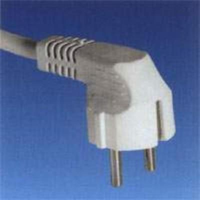 Prolongador el/éctrico con clavija bipolar 2 m Duolec Duolec 900R79